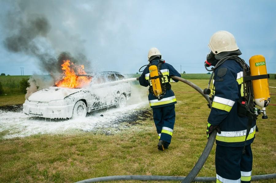 пожарный, пожар, тушить