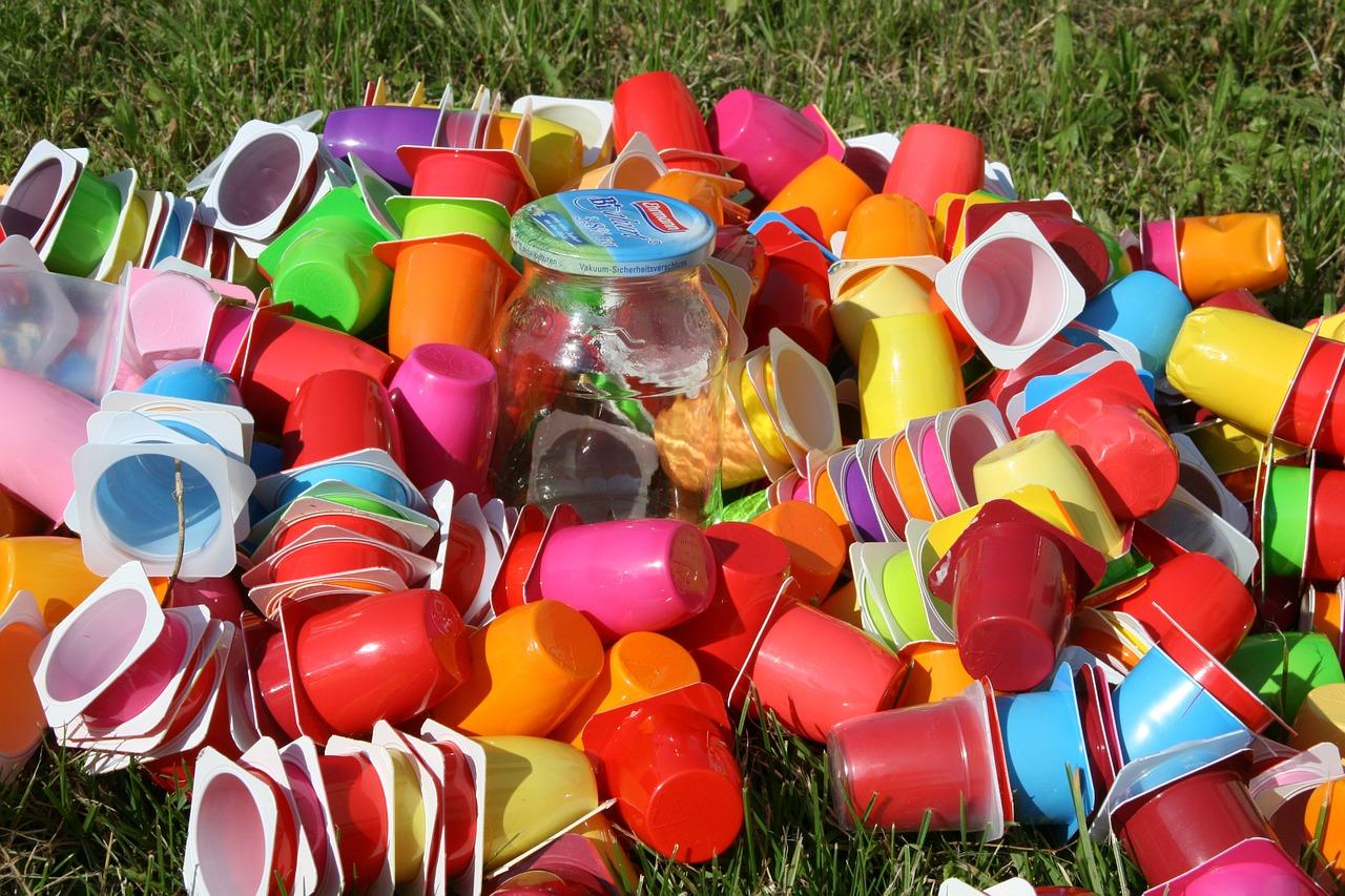 Переработка мусора, пластик