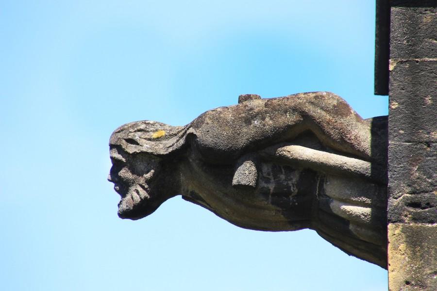 гаргулья, статуя, мифы