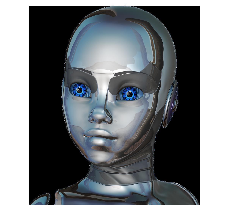 робот, андройд, девочка