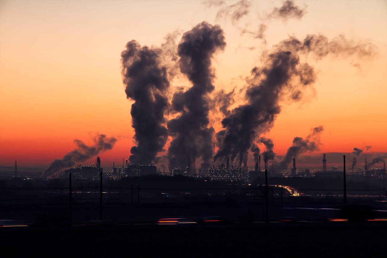 смерть, загрязнение воздуха