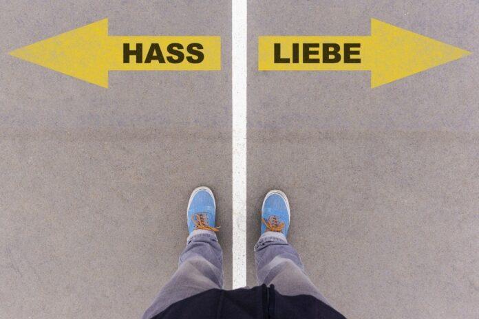 выбор, любовь, ненависть, немецкий