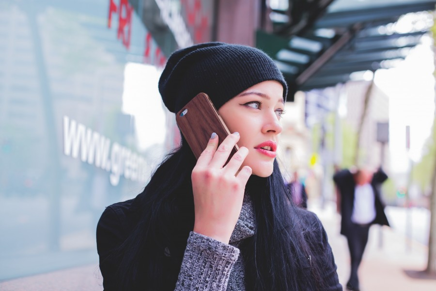 телефон, девушка, эмоция