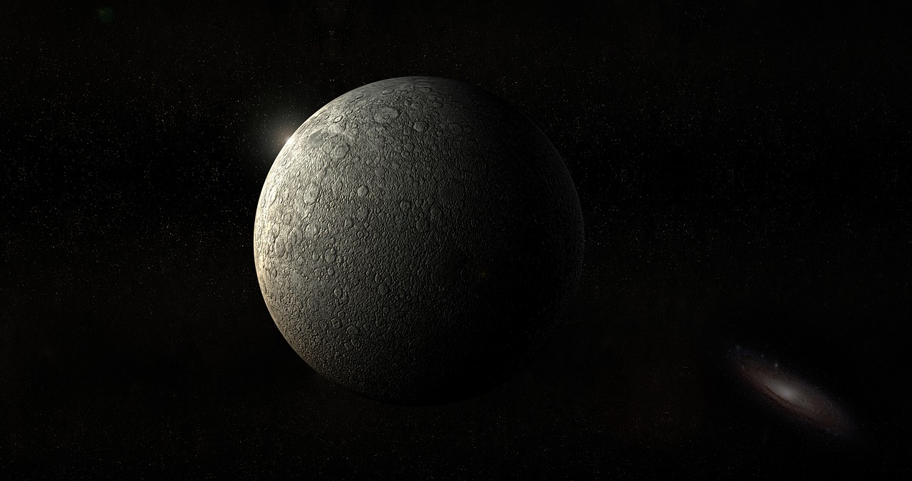Экзопланета, луна