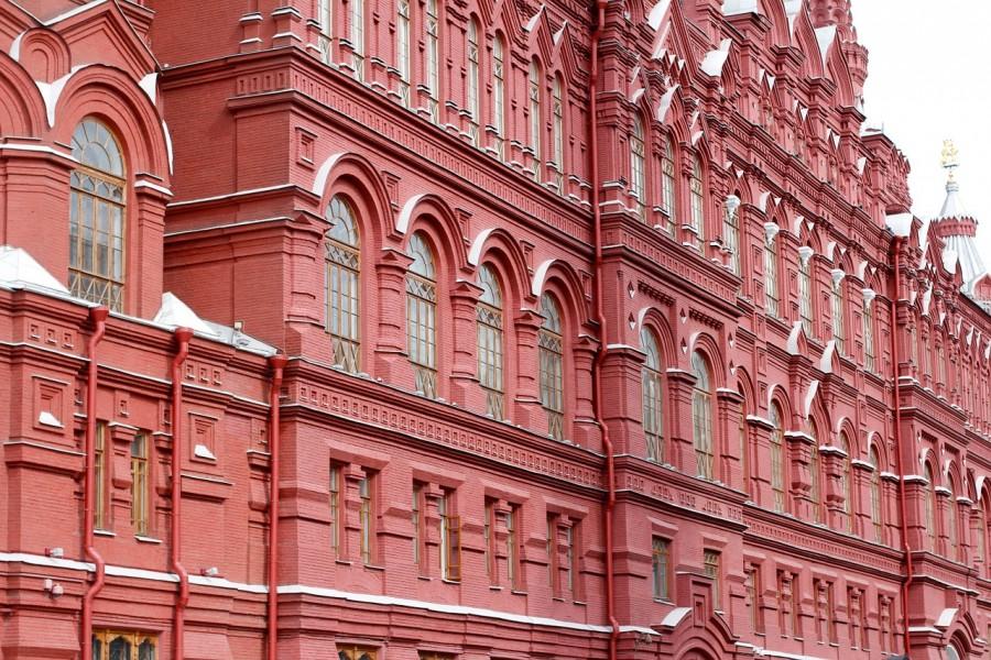 москва, кремль, окна
