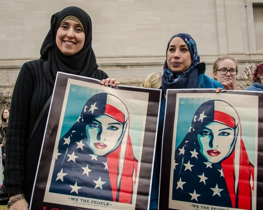 женщины, мусульмане, америка, иммигранты