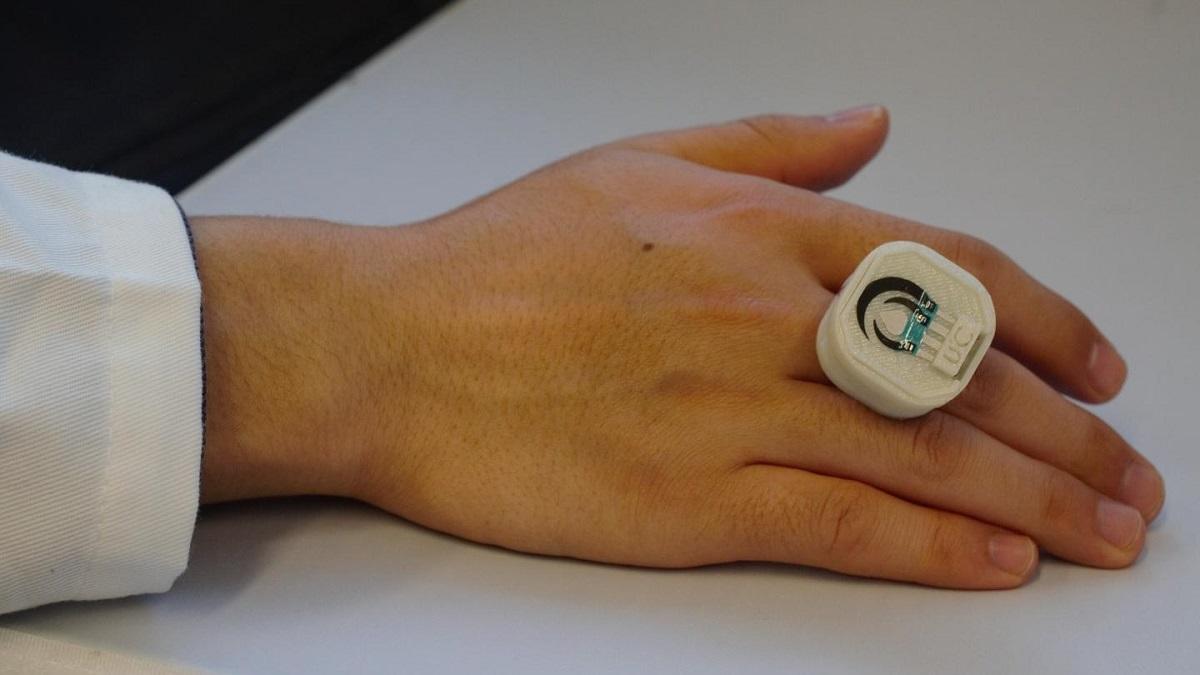 кольцо детектор