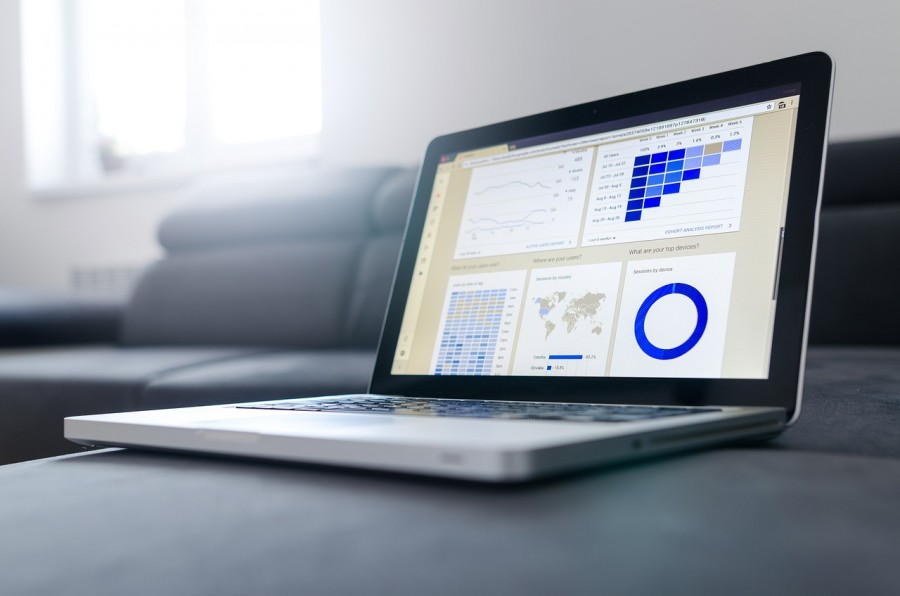 статистика, аналитика, ноутбук