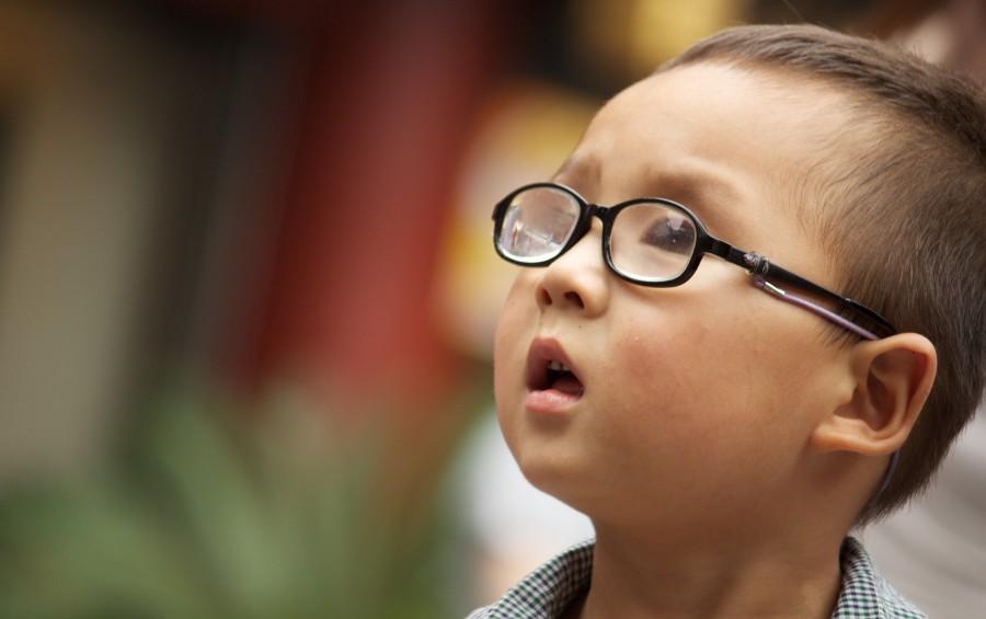 ребенок, зрение, очки