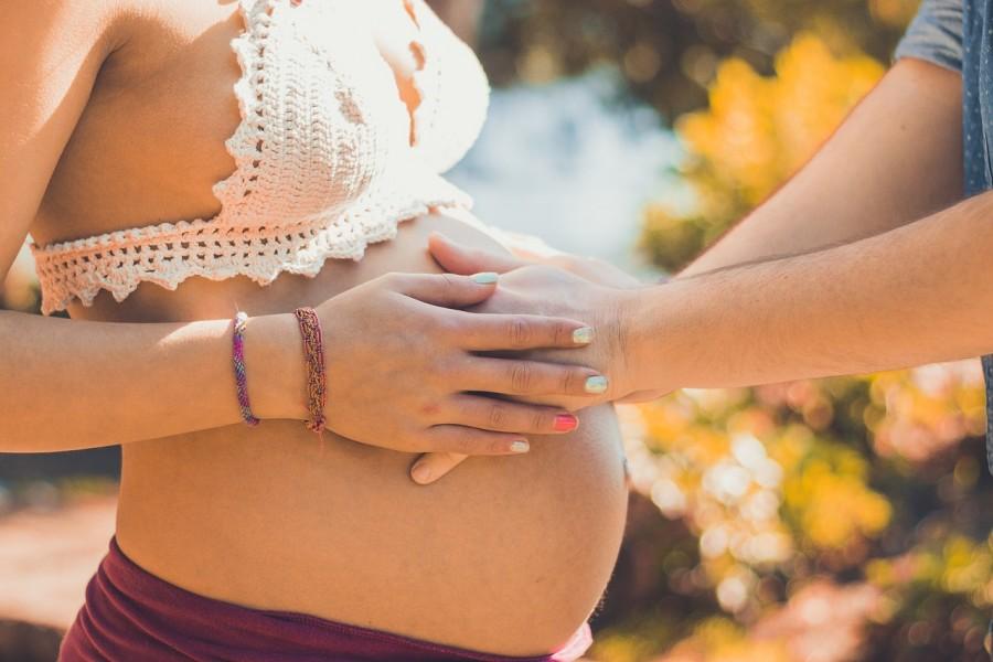 беременность, женщина