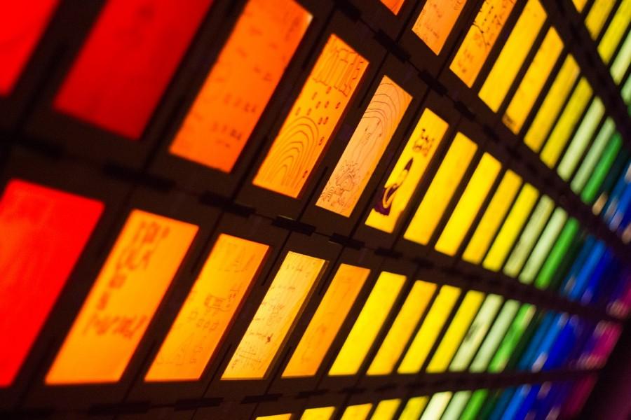 спектр, цвета, радуга