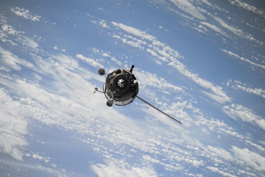 спутник, космос, земля