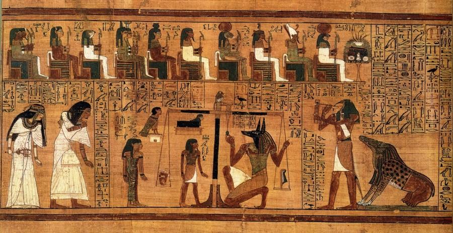 Египет, фреска