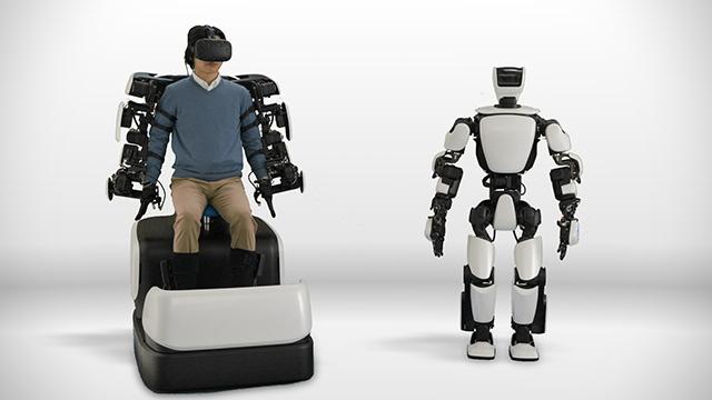экзоскелет, робот, toyota
