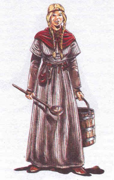 викинги, одежда, женщины