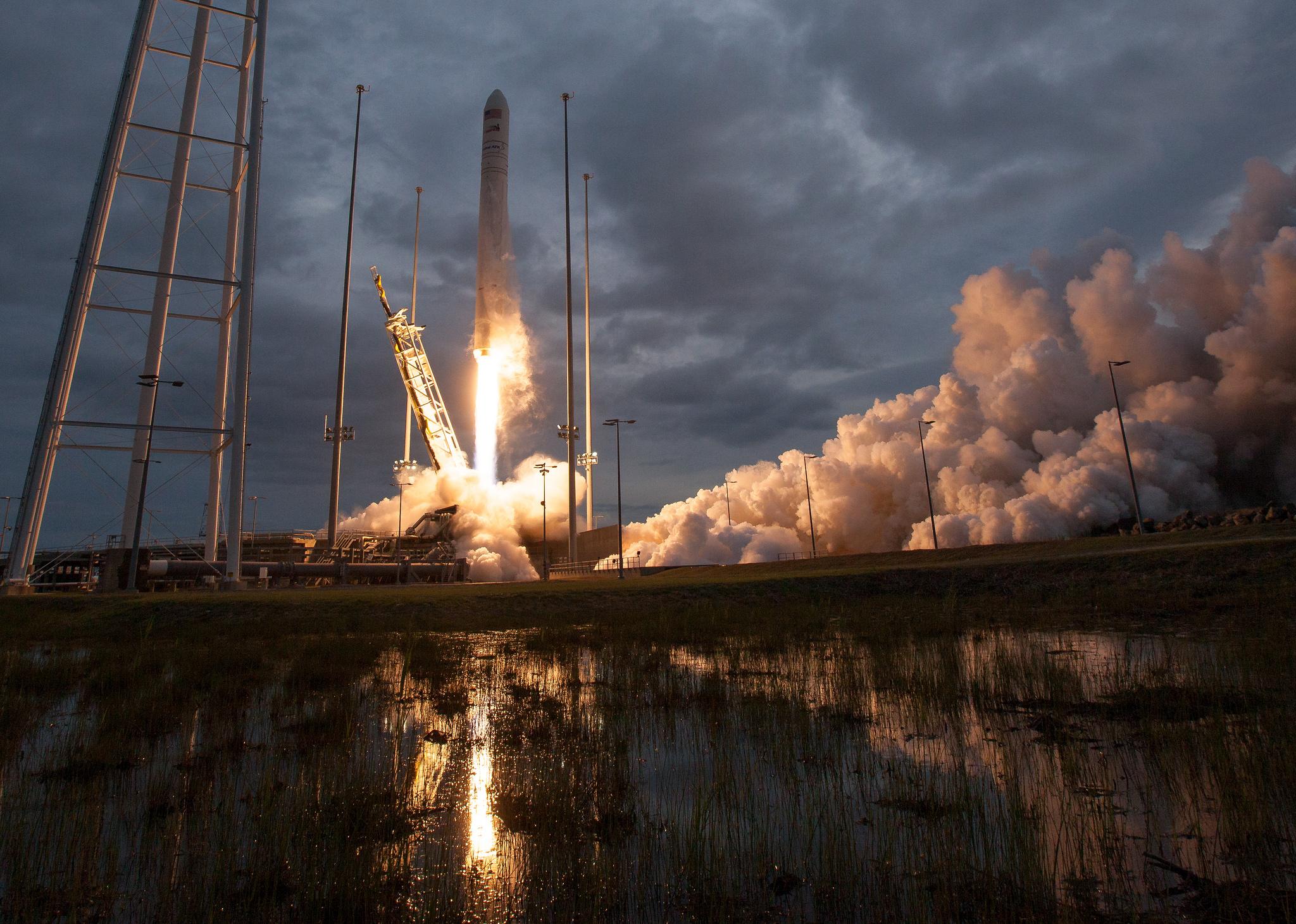 Cygnus, запуск, космос, nasa