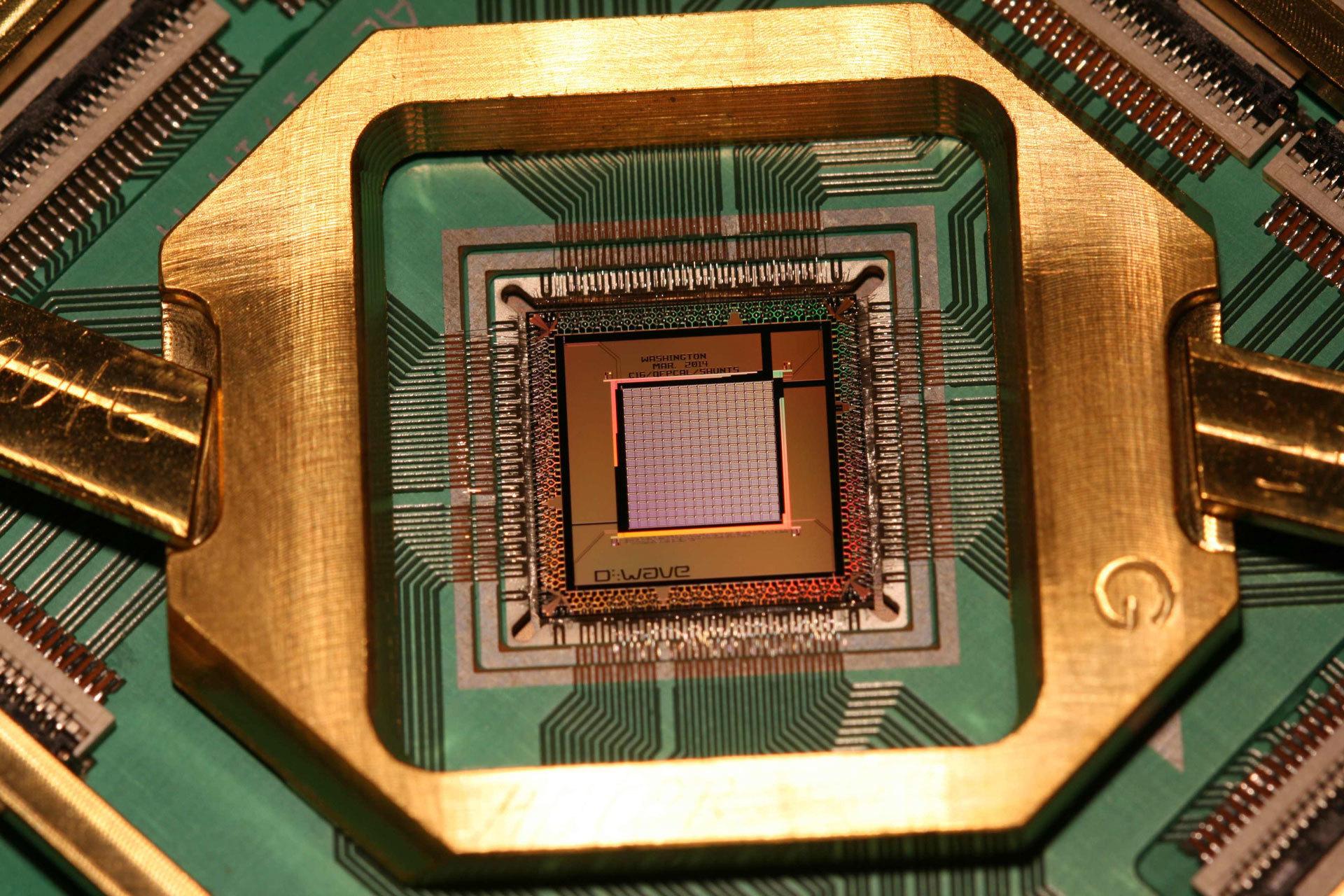квантовый компьютер Google, Wolksvagen