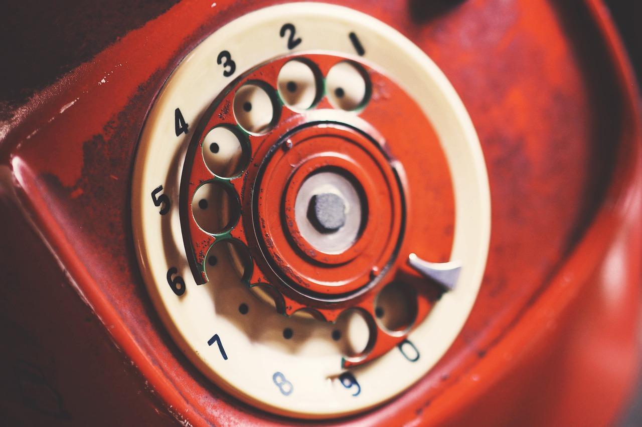 телефон, старый, диск