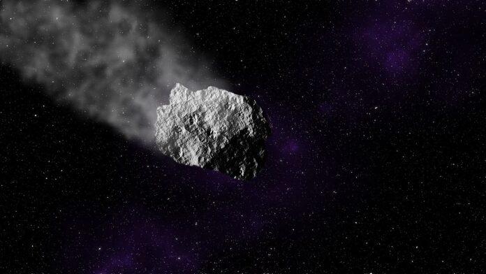 астеройд, космос, звезды