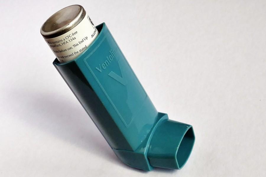 вентолин, астма, ингалятор