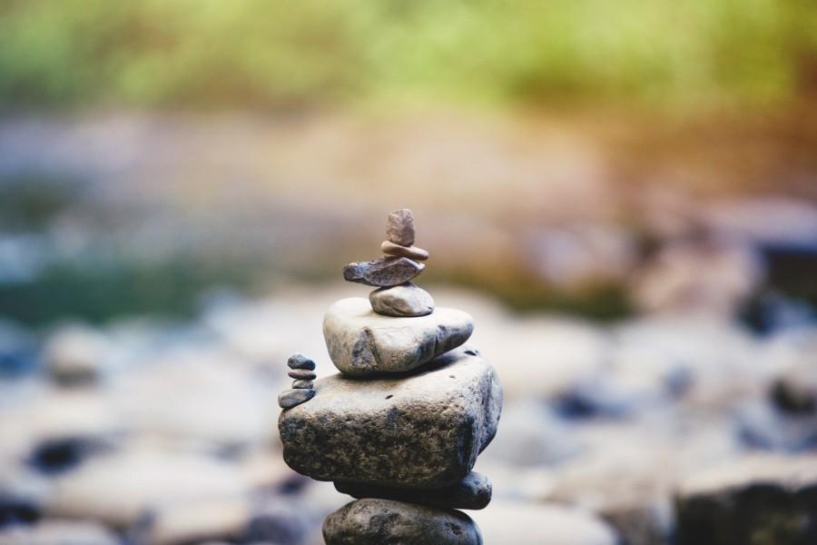 камни, баланс