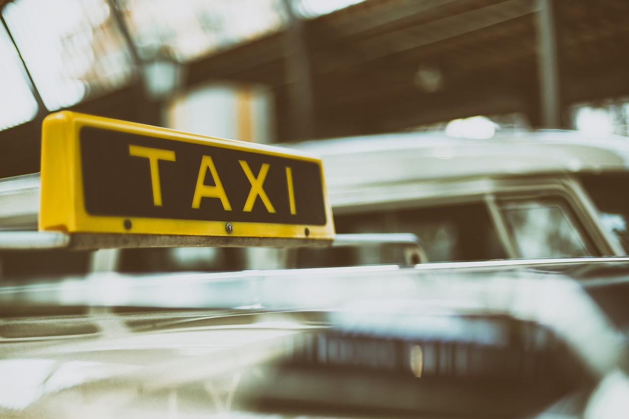 такси, машина, транспорт