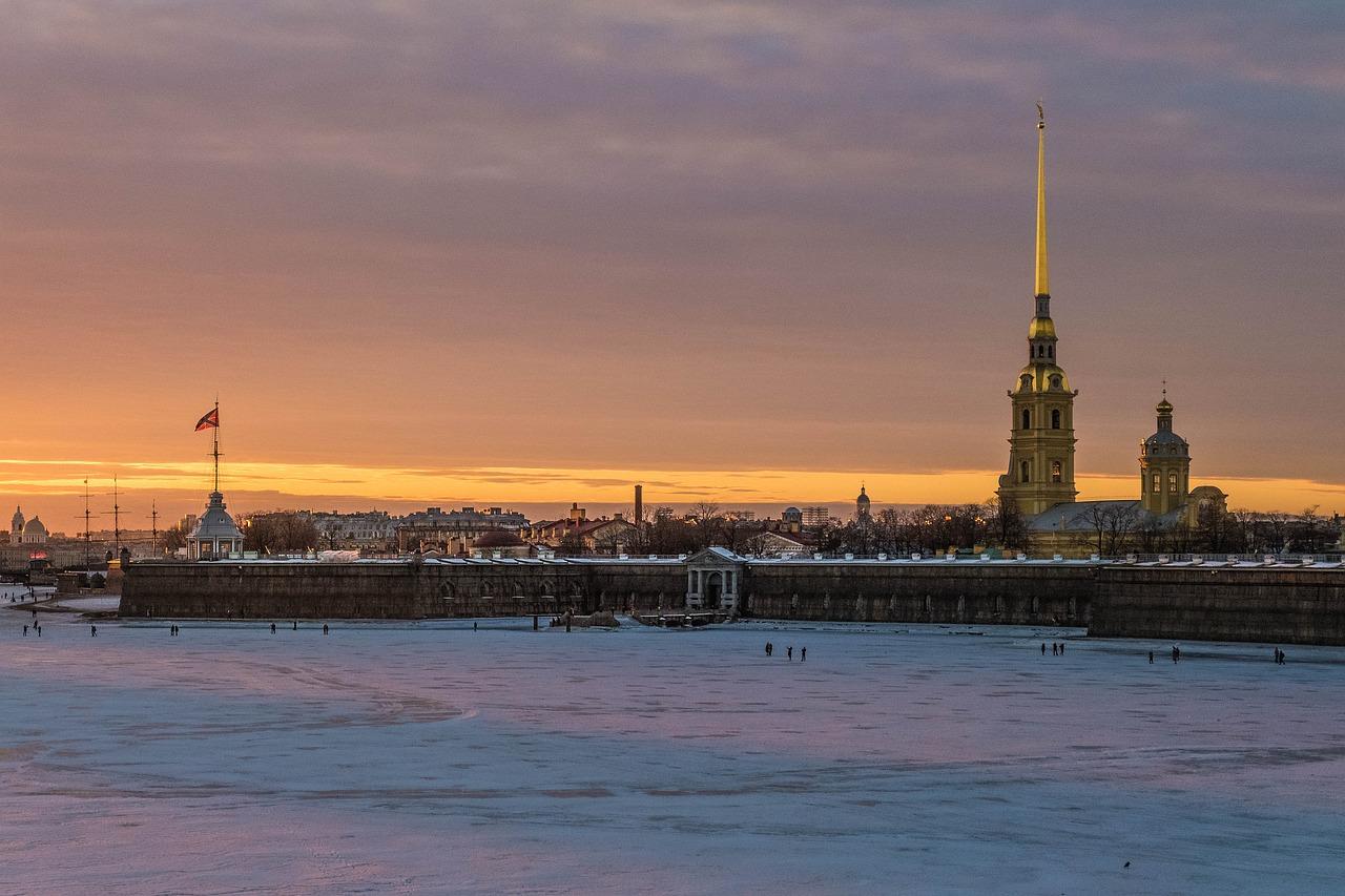 Петропавловская, крепость, Петербург