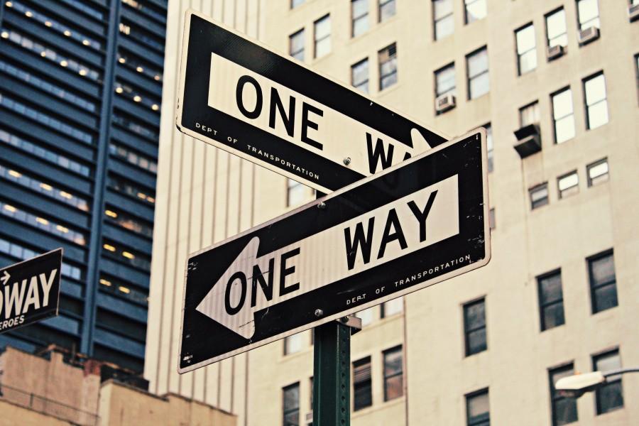 выбор, путь, знак