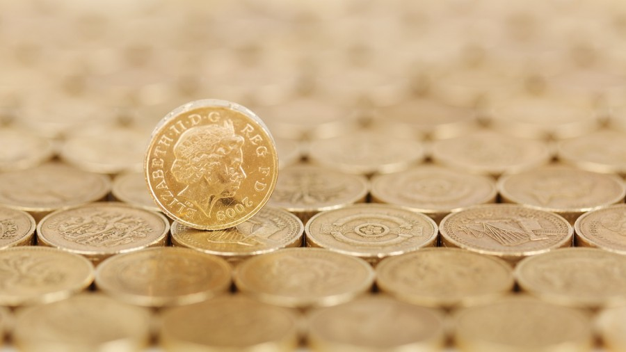 британия, фунты, монета