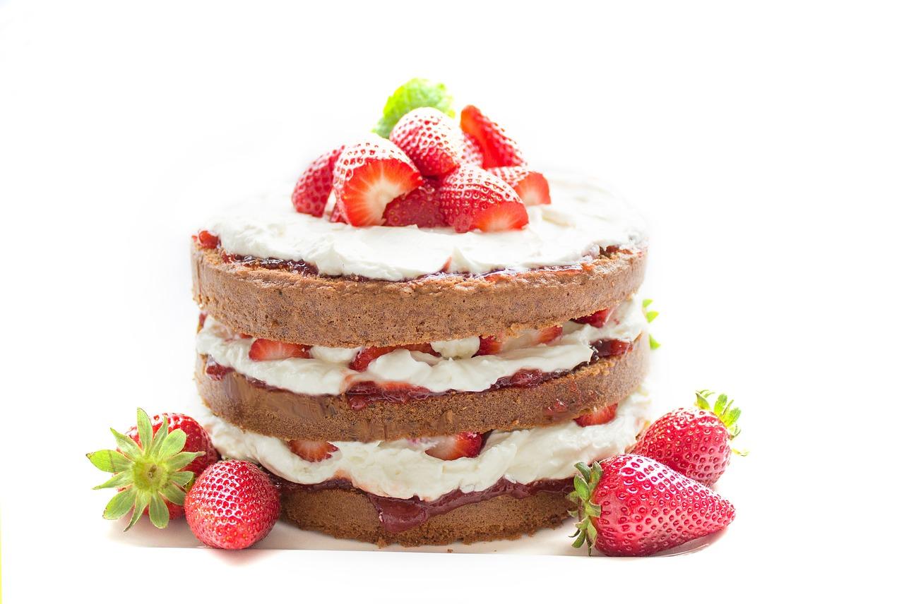 сахар, торт, десерт