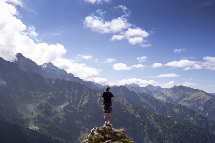 горы, человек, преодоление