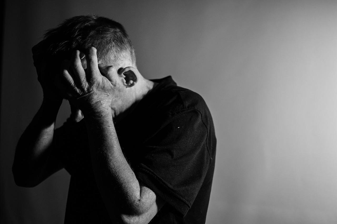 мужчина, депрессия, отчаяние