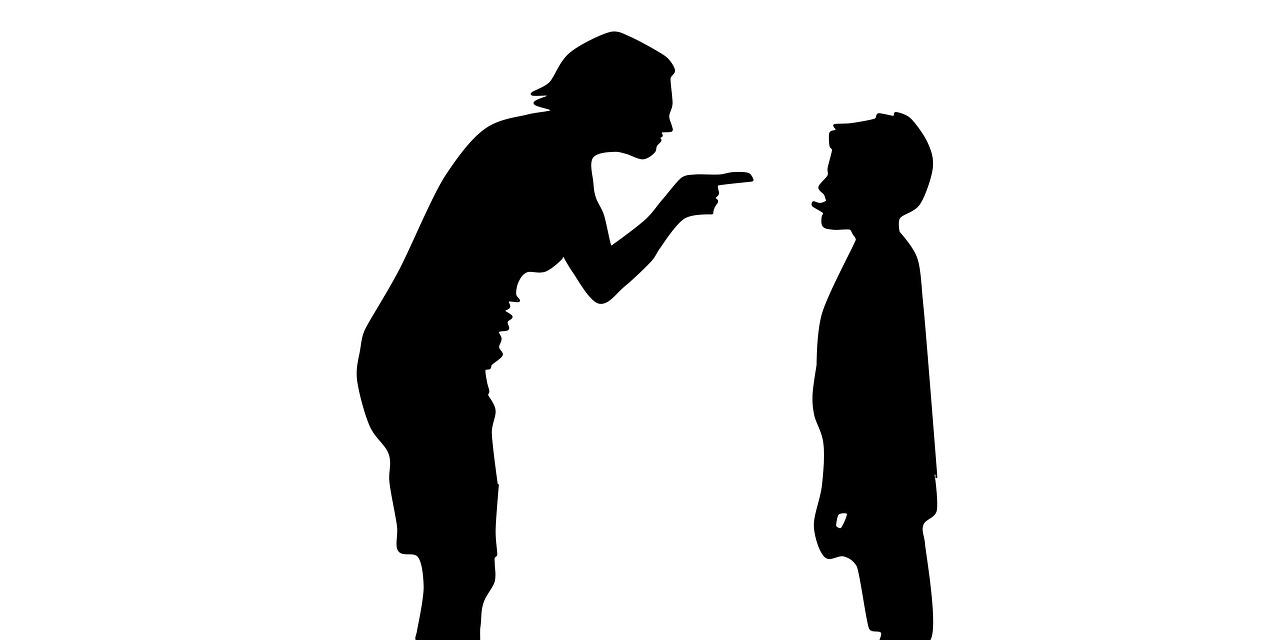 семья, мама, ребенок, наказание, ругань