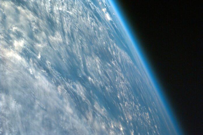 земля, космос, атмосфера, планета