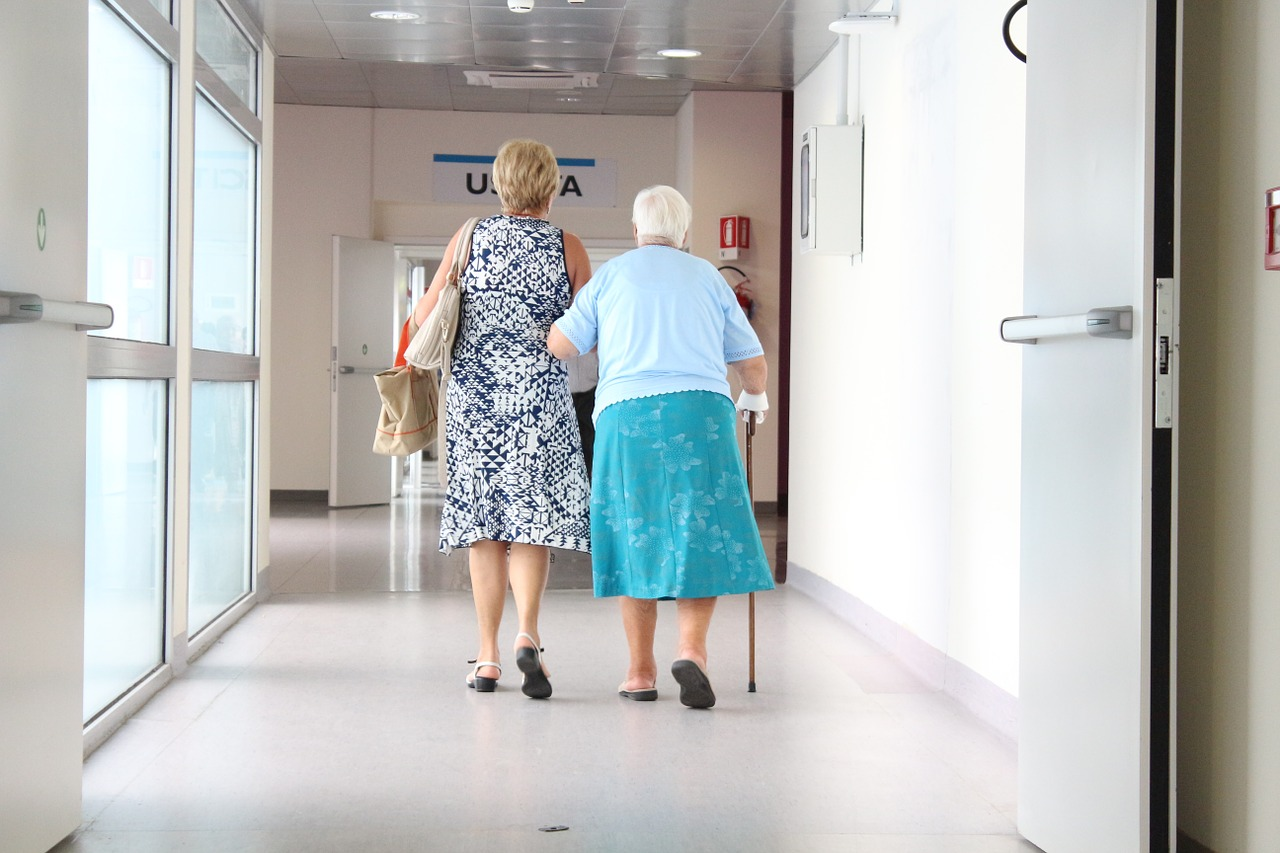 женщины, пожилой, помощь