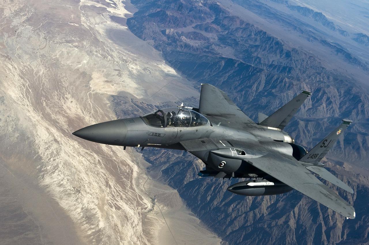 Истребитель McDonnell Douglas F-15 Eagle
