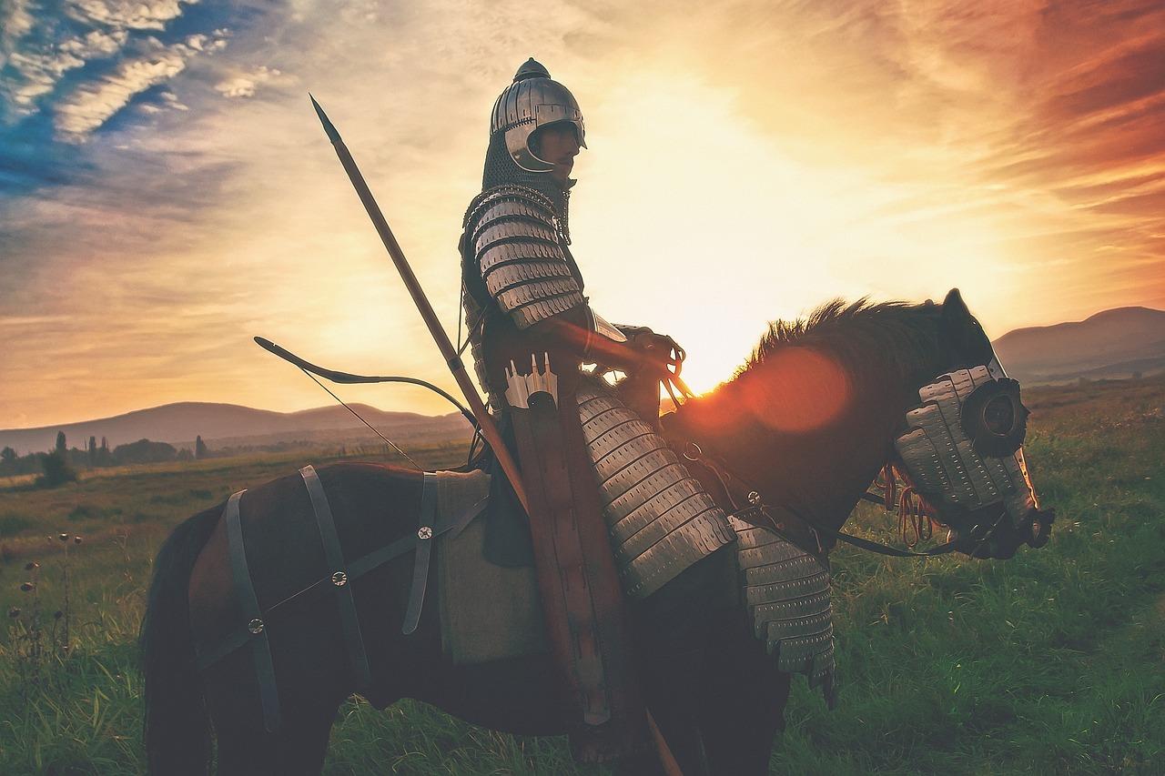 рыцарь, солнце, война