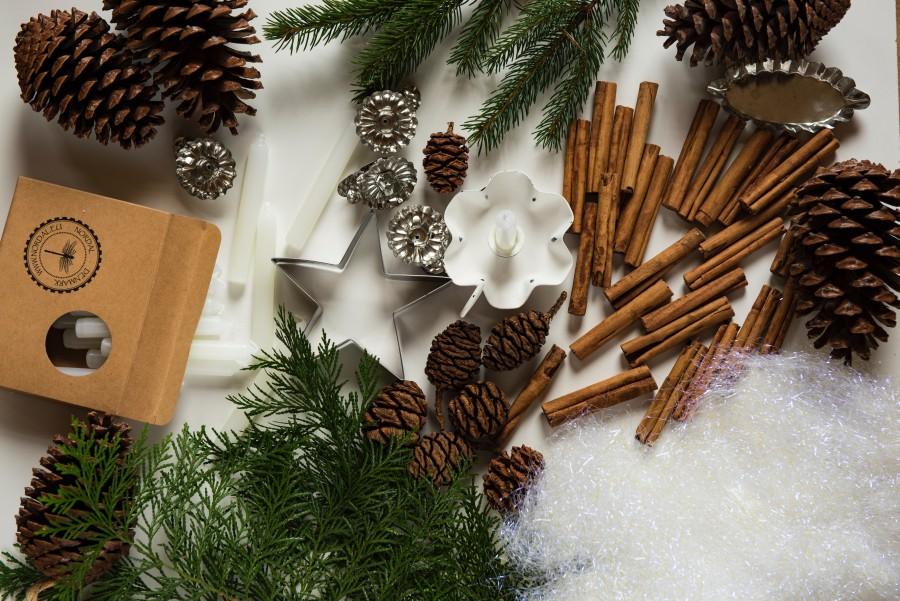 Корица, рождество, елка