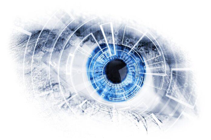 Глаз, робот, техника