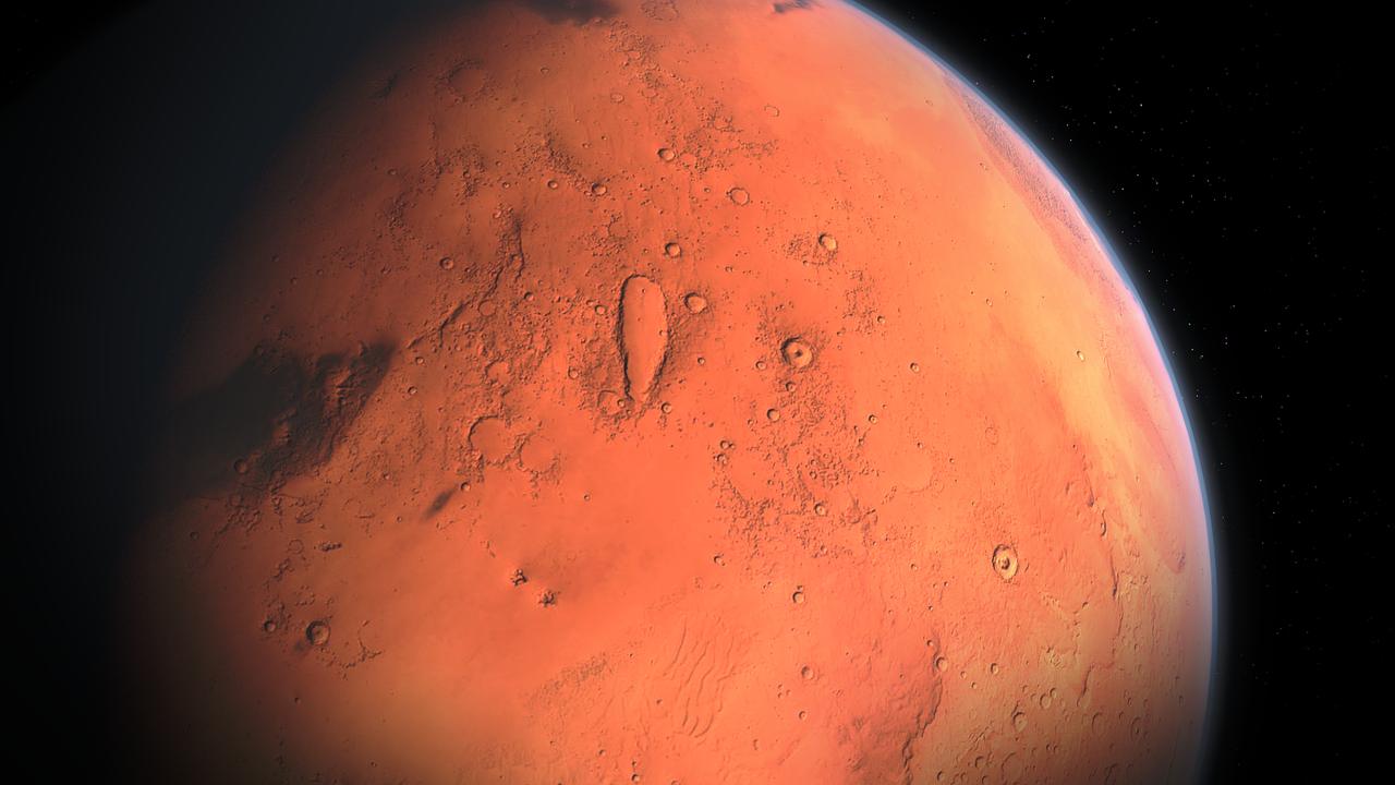 Марс, космос, планета