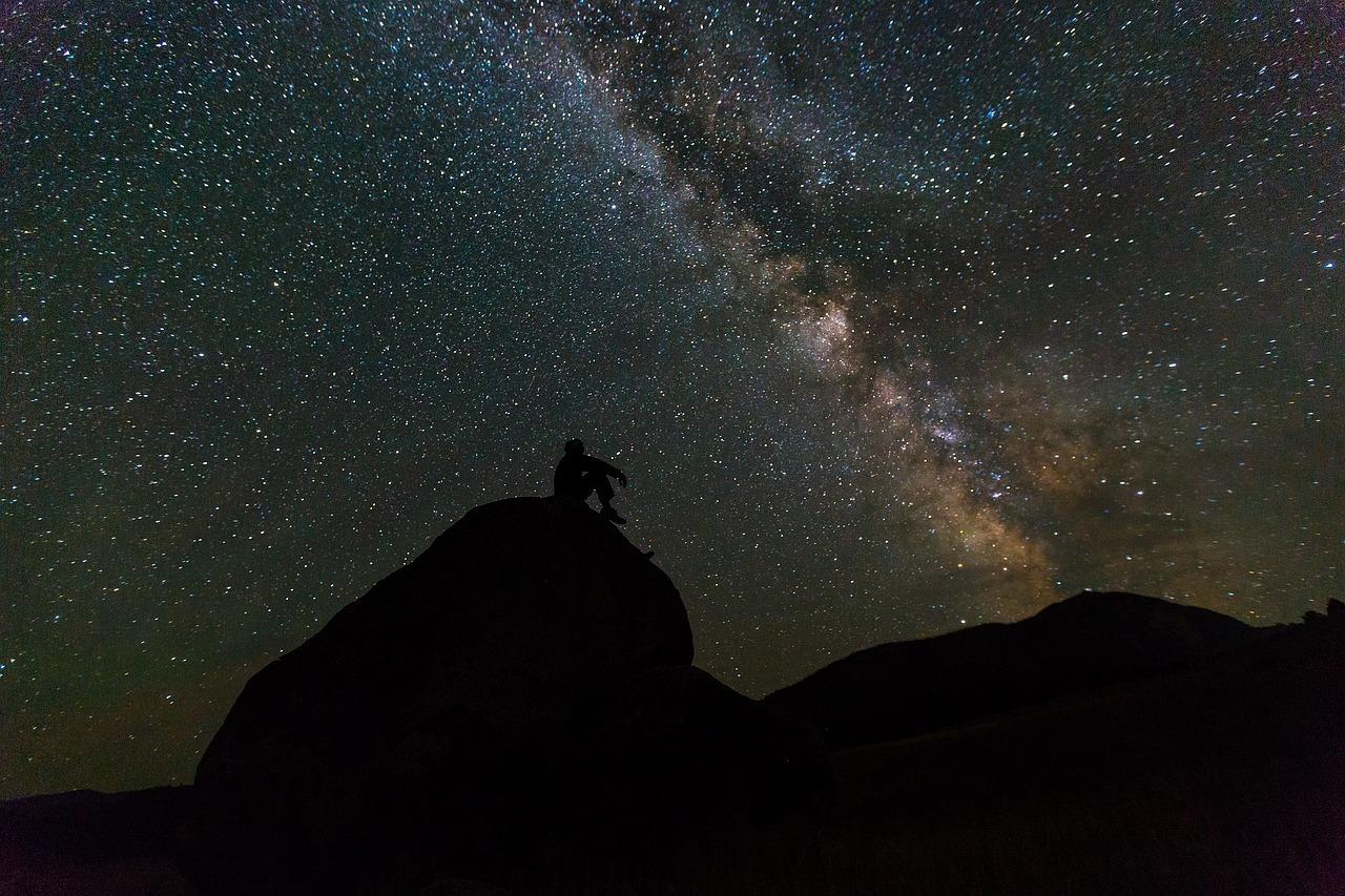 Космос, звезды, млечный путь