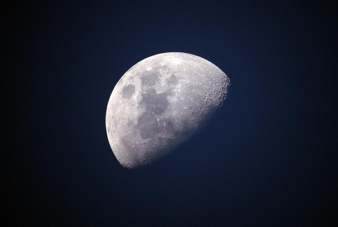 луна, спутник, космос