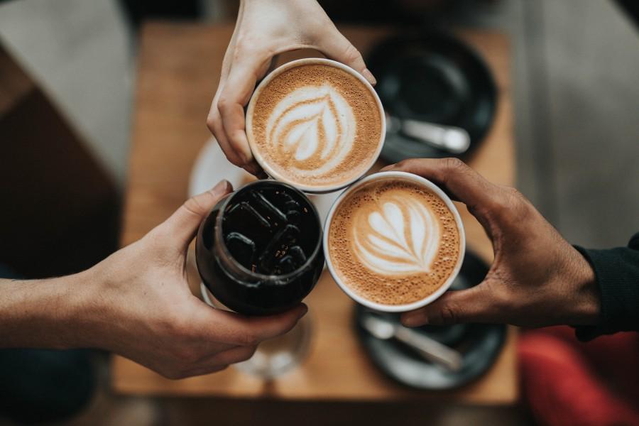 кофе, капучино, напиток