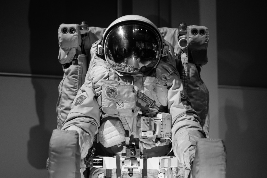космонавт, скафандр, космос