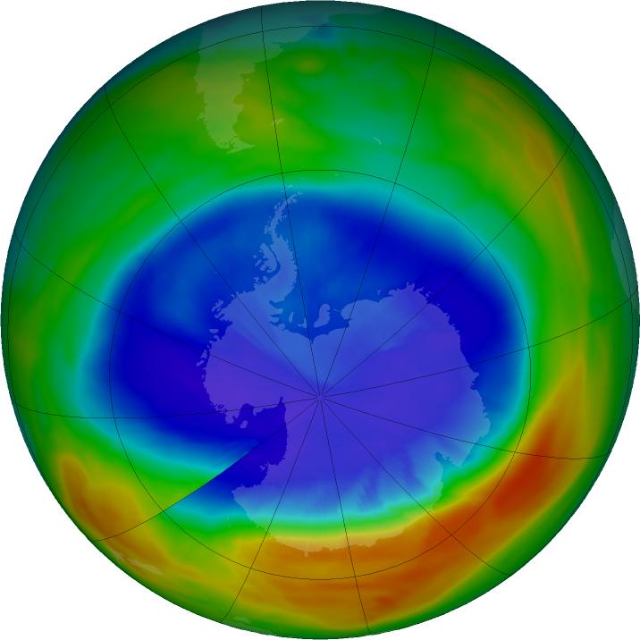 Озоновая дыра, Антарктида