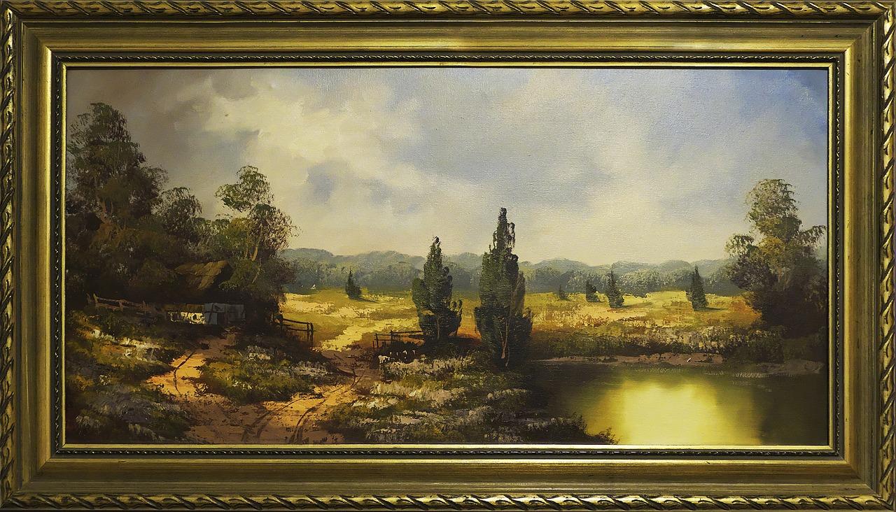 картина, живопись, пейзаж