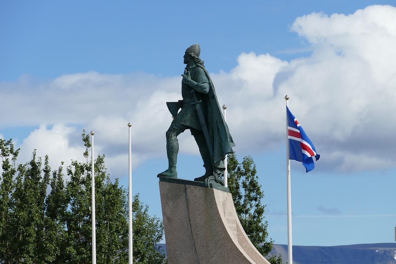 Рейкьявик, викинг, скульптура
