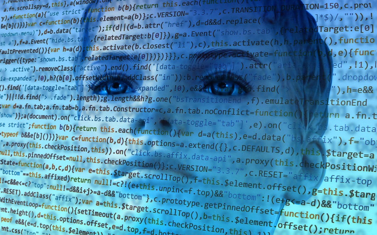 Робот, искусственный интеллект, женщина
