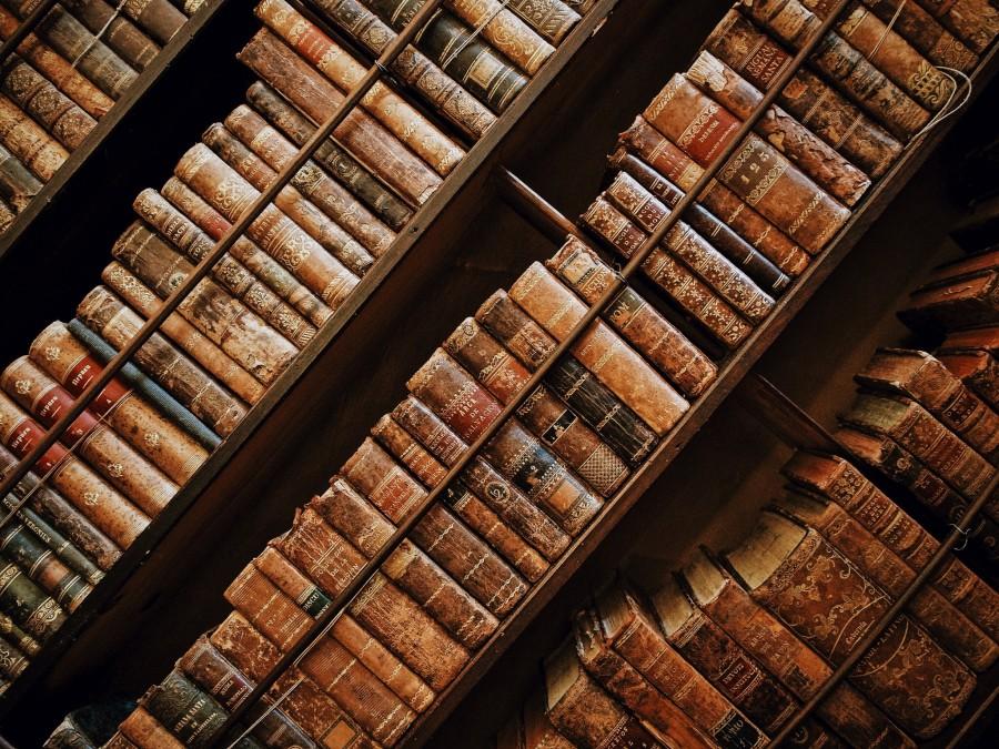книги, библиотека, язык, слова