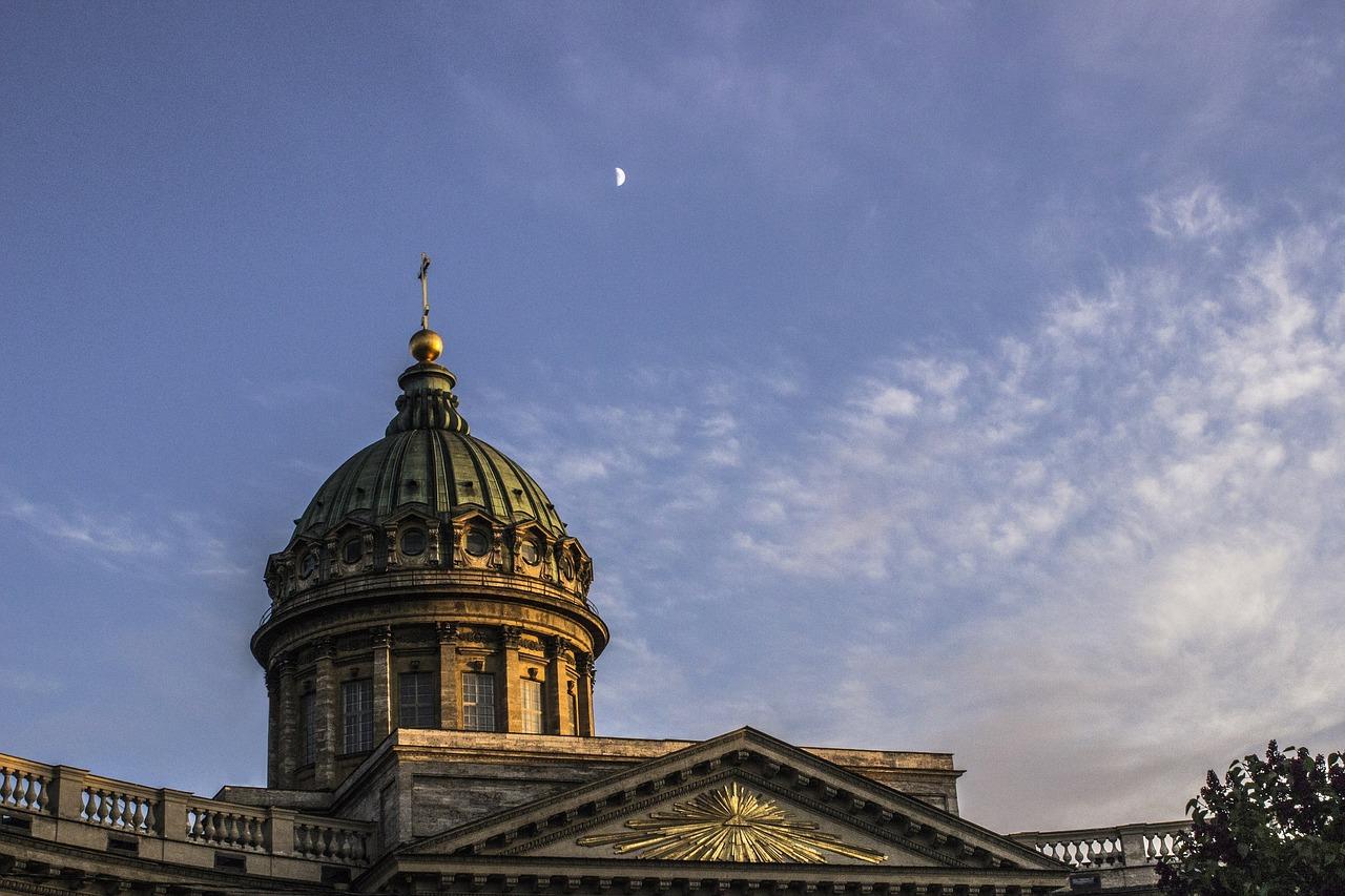 Казанский, собор, Россия, Петербург